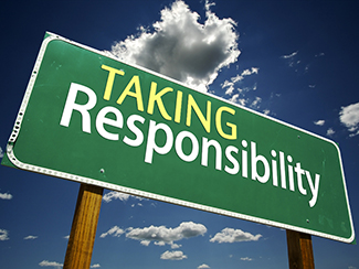 Taking Responsibility!